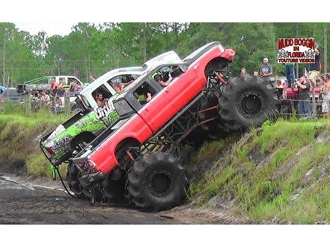 King Krush Monster Truck in All Day Mud Bog Beatin