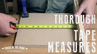 Accurate Measuring Tips   Tricks of the Trade