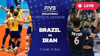Brazil v Iran - Group 1: 2016 FIVB Volleyball World League