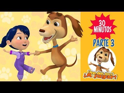 Enganchados Capítulos ¡Uno dos tres a jugar Parte3 Con el perro Chocolo
