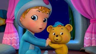 I Hear Thunder with Teddy Bear | Rhymes for Children | Infobells