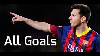 Lionel Messi ● All 41 Goals in 2013/2014 | HD