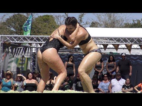 Xxx Mp4 Women Wrestling In Coleslaw For 1000 Daytona Bike Week 3gp Sex
