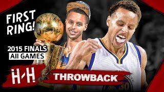 Stephen Curry 1st Championship, Full Series Highlights vs Cavaliers (2015 NBA Finals) -  EPIC! HD