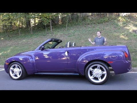 The Chevy SSR Was a Crazy 50 000 Retro Convertible Pickup Truck