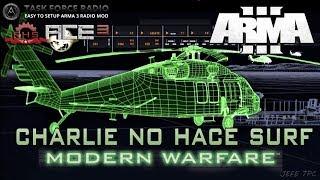 [ArmA 3](COD4-MW2) Charlie no hace Surf - Coop.38 Gameplay en Español [1080p60 Ultra] En Directo
