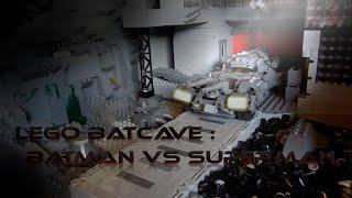 Lego MOC :Batman V Superman Batcave Review