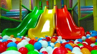 Giant 🐞 Indoor Playground 🐞Huge Bounce House Pit Balls Kids Area Family Fun Play Center Trampoline