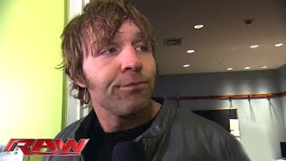Dean Ambrose makes a surprise appearance: Raw, January 26, 2015