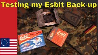 Vintage Esbit Stove: Testing my Back-up Gear