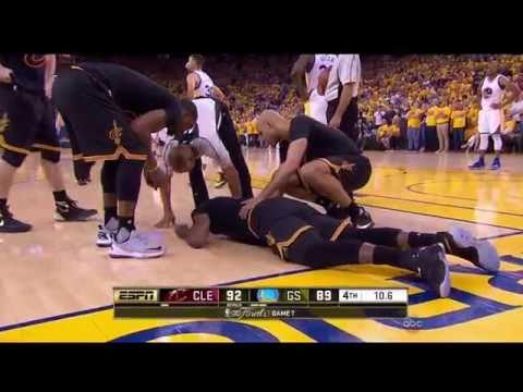 Last minute of the 2016 NBA