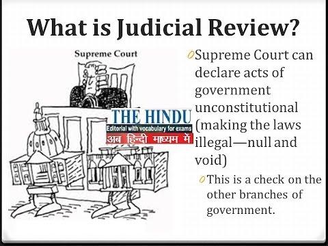 THE HINDU JUDICIAL REVIEW SEARCH FOR EQUILIBIRIUM ASHWANI KUMAR