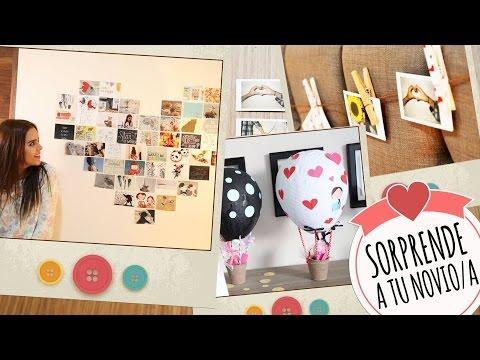 Regalo para mi novia cuarto decorado yulissa y jonathan - Ideas para sorprender a mi pareja ...