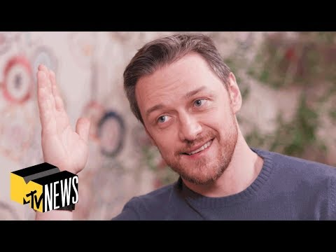 James McAvoy On Glass The Future Of X Men & It Chapter 2 MTV News