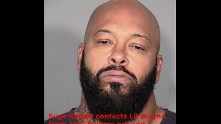 """Suge Knight calls lil wayne from jail""""Bail me out,I"""