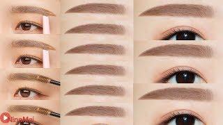 วิธีเขียนคิ้วสไตล์สาวเกาหลี - Korean Inspired Eyebrow Tutorial