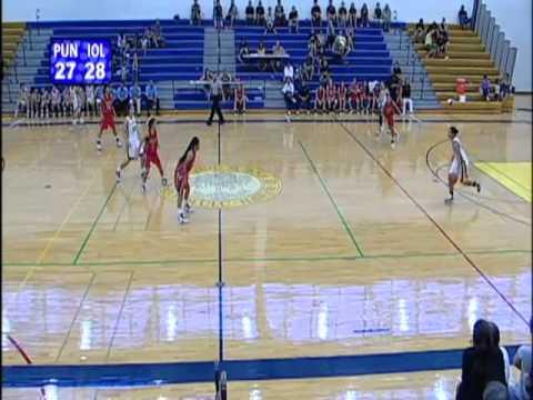2010-2011 Girls Basketball: Punahou vs. Iolani