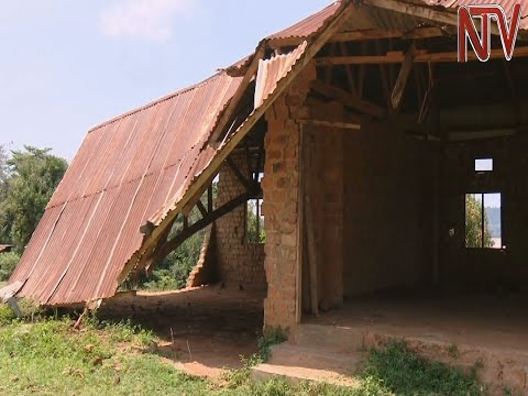 Pupils in Wakiso school study under trees 6 years after classrooms were destroyed by storm