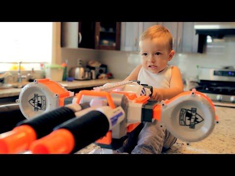 Nerf War Gun BABY 2