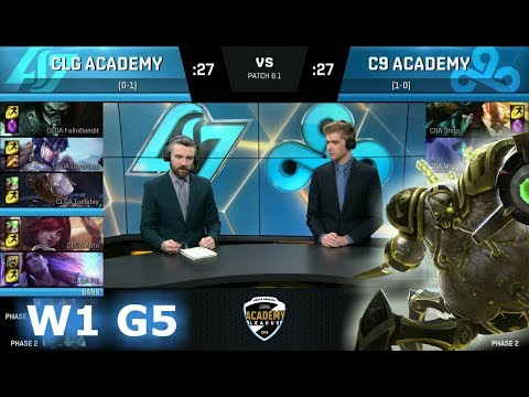 Xxx Mp4 CLG Academy Vs CLoud 9 Academy Week 1 Of S8 NA Academy League Spring 2018 CLGA Vs C9A 3gp Sex