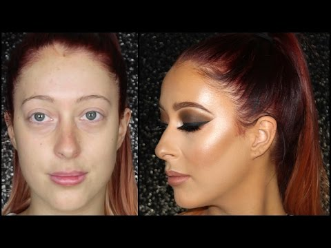 Dramatic Brown Smokey Eye ♡ Client Makeup Tutorial ♡ MAKEUPMEJORDYN