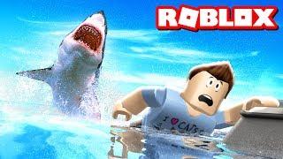ROBLOX SHARK ATTACK!!