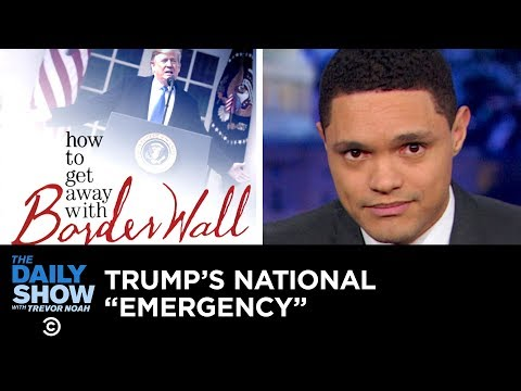 Xxx Mp4 Trump Admits There's No Emergency While Declaring A National Emergency The Daily Show 3gp Sex