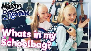 Whats In My Schoolbag