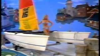 Dian Parkinson Blue Stripe Bikini 2.avi