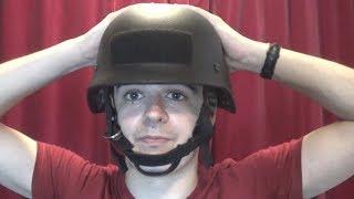 British Police Commando Kevlar helmet