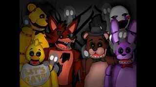 Just Like Balloons: A Five Nights at Freddy's (FNAF) Music Video- Song by MandoPony