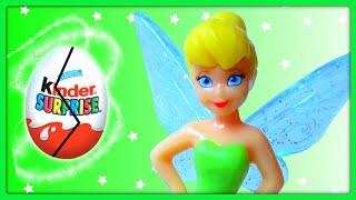 ✅ 12 Surprise Eggs, Disney Fairies Kinder Surprise Eggs Toys, Tinkerbell Fairy Friends