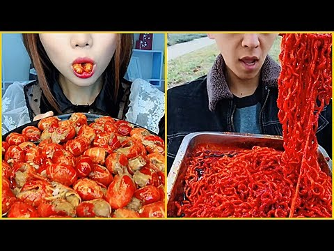 Xxx Mp4 Super Spicy Food Eating Show Collection Chinese Food ASMR MUKBANG P3 3gp Sex