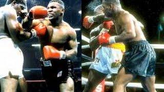 Mike Tyson vs Donovan Razor Ruddock I  II highlights