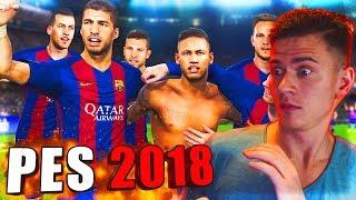 ПЕРВЫЙ РАЗ ИГРАЮ в PES 2018   Pro Evolution Soccer 18