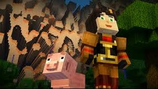 Minecraft Story Mode Ep. 4: The Glitched Wall! ( No Commentary )