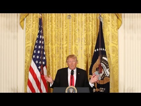 President Trump s full press conference