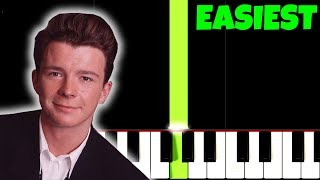 Never Gonna Give You Up, but it's TOO EASY, I bet 1.000.000$ You Can PLAY THIS!