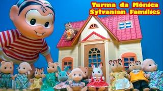 Mônica e Sylvanian Families: Casinha♡ Piano ♡ Escrivaninha ♡ Coelhos Esquilos ♡Ovelhas