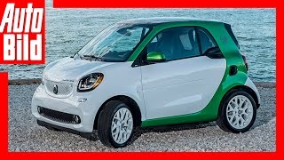 Neuvorstellung: Smart electric drive / 2017 / Smart unterwegs im E-Auto / Review / Test