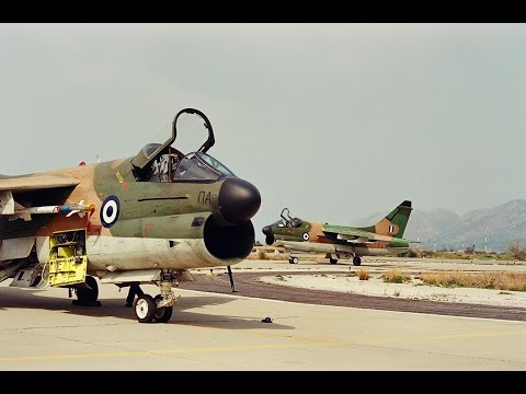 A-7 CORSAIR - Τα θρυλικά βομβαρδιστικά της ΠΑ στη 115 ΠΜ της Σούδας