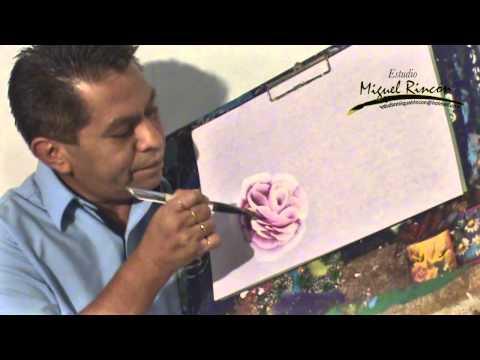 Miguel Rincón Pincelada Básica La Rosa