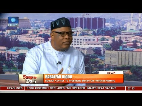 FG Denies Involvement In Barricade Of NASS Complex Pt.4 Sunrise Daily