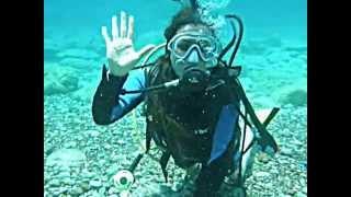 ilk kez deniz altına dalmak