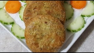 """Chicken Shami Kabab"" Recipe by AussiePak FoodHub."