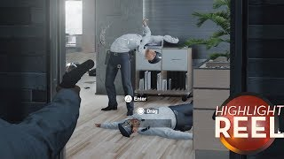 Highlight Reel #319 - Glitched Hitman Guard Is Straight Out Of A Horror Game