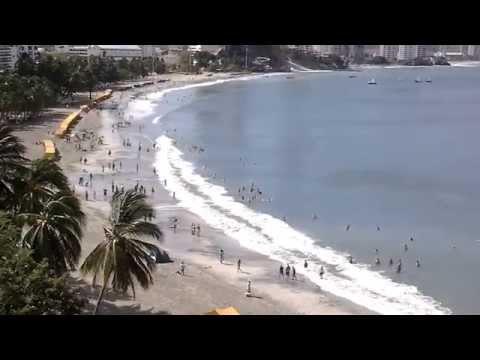 Inicio del Tsunami en El Rodadero