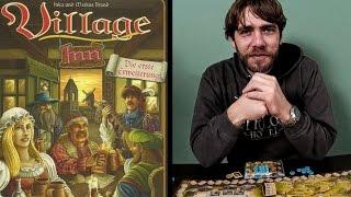 Village mit Village Inn (1. Erweiterung) - Kennerspiel des Jahres 2012 - Let's Play
