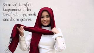 Modanisa- Pratik Şal Bağlama Modelleri- ÇabasIz Endonezya Stili