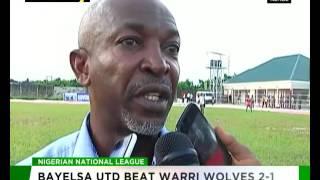 Bayelsa United beat Warri Wolves 2-1